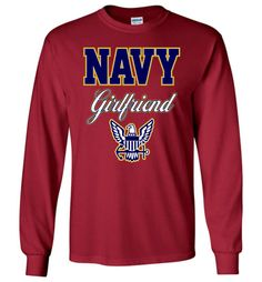 U.S. Navy Girlfriend Long-Sleeve T-Shirt