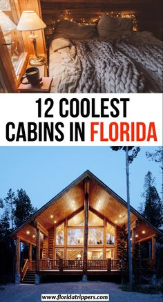 12 coolest cabins in florida | 12 best places to stay in florida | best florida cabins | airbnbs in florida | best florida airbnbs | best cabin getaways in florida | where to stay in florida | cool florida cabins #florida #cabins #airbnb #floridaliving