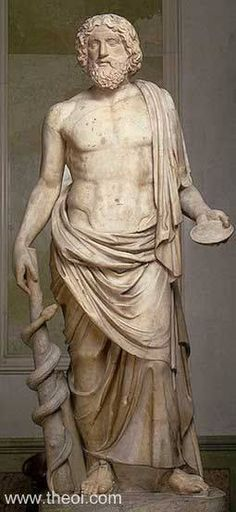 Aesculapius, Greek God of Medicine