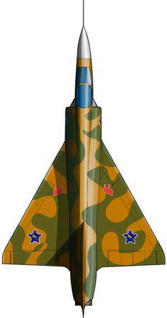 Un Mirage III de la fuerza Aérea de Sudáfrica, pintado como los utilizados en el ataque a campamentos del SWAPO en Angola (1978).