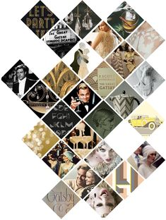 The Great Gatsby Web Design, Flyer Design, Layout Inspiration, Graphic Design Inspiration, Photomontage, Gatsby, Mises En Page Design Graphique, Yearbook Layouts, Yearbook Ideas