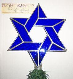 Medium Handmade Interfaith Christmas Tree Topper by cityfreeglass
