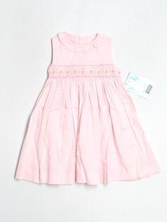 pink smocked dress by Luli + Me