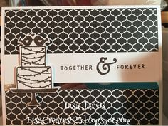 Lisa Creates...: December's Card Club - Wedding/Anniversary Cards
