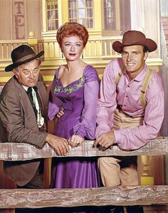 Gunsmoke: Doc, Miss Kitty, Chester Series Movies, Tv Series, Miss Kitty, Tv Westerns, Western Movies, Old Tv Shows, Vintage Tv, Tv Guide, Classic Tv
