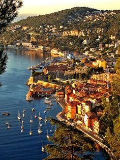 Monaco-French Riveria-Villafranche-sur-Mer