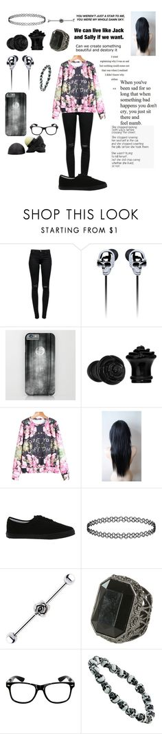 """""""Untitled #189"""" by kyleruniverse ❤ liked on Polyvore featuring J Brand, Vans, Topshop, Wet Seal and Blink"""