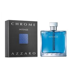 Azzaro Chrome Intense Men's Cologne - Eau de Toilette, Multicolor