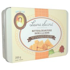 Butter & Cream Fudge 200 g – Products – Laura Secord