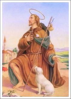Proprio il giorno dopo Ferragosto, si festeggia San Rocco, predicatore che nel Trecento vagò tra la Francia e l'Italia, sempre diffondendo l'amore per Dio e la S.S. Vergine. Viaggiò anche tra il