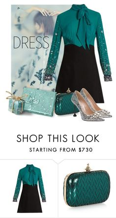 """miumiu sparkle"" by sylstyle ❤ liked on Polyvore featuring Miu Miu and Vivienne Westwood"