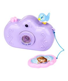 Purple Sofia the First Toy Camera #zulily #zulilyfinds
