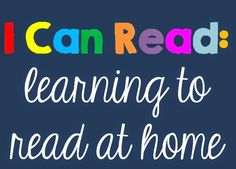 I can Read: learning to read at home Clever Classroom