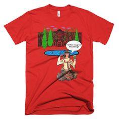Short sleeve men's t-shirt - Selfie
