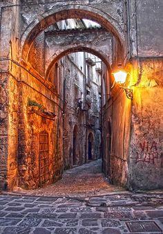 Via Gaeta in Cosenza - Province of Cosenza Calabria Italy