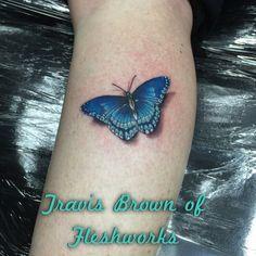 #FleshworksTattooStudio#Realistictattoo#Butterfly#RealisticButterfly#TravisBrown#Custom#Olympia#WA#OlympiaTattooshop#BestOfWesternWA#Pretty#GirlsWithTattoos