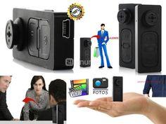 Botón Espía Con Cámara Oculta   PRECIO $44,90 COMPRA YA: 5129020-0987495689 proinnova@outlook.es