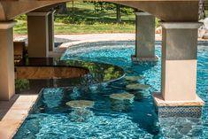 Holmdel, New Jersey Landscape Design & Construction - Holmdel, NJ Custom In-Ground Pools — K & C Land Design & Construction Luxury Swimming Pools, Luxury Pools, Dream Pools, Swimming Pools Backyard, Swimming Pool Designs, Pool Landscaping, Lap Pools, Indoor Pools, Pool Decks