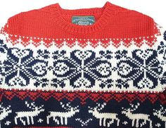 RUGBY by Ralph Lauren Wool Nordic Sweater