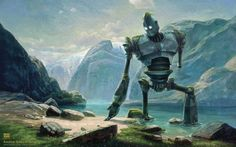 Image result for the iron giant fan art