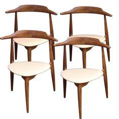 Chaises Hansen 1950 / Boutique en ligne : www.dedde-art.com
