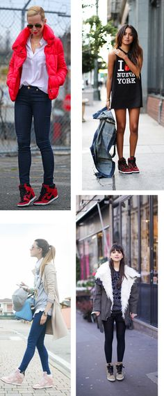 Nike Sky Hi Wedge Sneakers