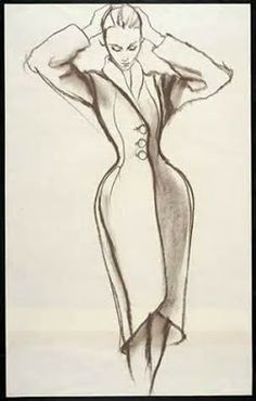 Designers wanted Antonio to draw their collections as he had the power to make the viewer want what he drew. #Antoniolopez  for #CharlesJames