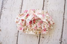 Shabby Floral Diaper cover- Baby Diaper Cover - Ruffle diaper cover -  Diaper cover - Photoprop - Ruffle  Bloomers - Newborn prop - Toddler by PoshPeanutKids on Etsy (null)
