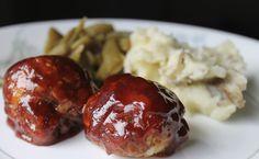 Sweet & Savory BBQ Meatballs {Prairie Gal Cookin'}