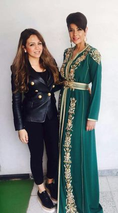 Moroccan caftan new collection by Imane Tadlaoui