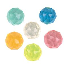 49mm Gemstone Bouncy Ball (Bulk Pack Of 12 Balls) at theBIGzoo.com. Perfect for pirate booty, party favors, and buried treasure!