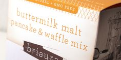 Buttermilk Pancake Mix Package Design
