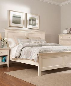Shop for a Claymore Park OffWhite 8 Pc King Panel Bedroom at Rooms