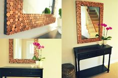 DIY Pennies Mirror