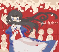 mad father by jessilvania on DeviantArt Father And Girl, Mad Father, Father Games, Creepy Games, Alice Mare, Corpse Party, Rpg Horror Games, Christmas Drawing, Witch House