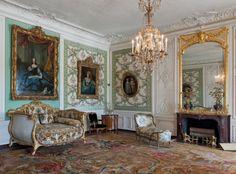 European sitting room.
