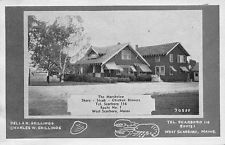 West Scarboro ME The Marshview Restaurant in 1946 Postcard