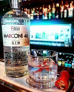 Marconi 46 G&T with chilli garnish at Whet bar delicious. #gin #craftgin #ginzealand #ginoclock #ginstagram #ginspiration #ginisthenewipa #marconi46 #whetbar #ginandtonic