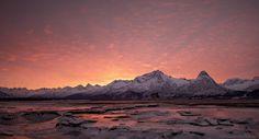 Prince William Sound Valdez Alaska sunrise. [Repost of OC in full res] [5903  3201]
