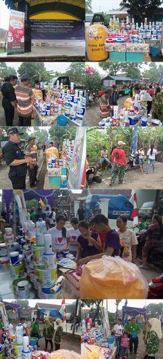 Bersih Desa Kawasan Prioritas PLPBK Desa Keper Bazar Program dan Road Show SKPD Kab. Sidoarjo