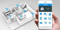 Das Smart Home ist ein Produkt der digitalen Ära. In einem solchen Haus steuern Sie die verschiedenen Haustechnik-Bereiche über eine internetbasierte Schaltzentrale an – die integrierten Komponenten innerhalb des Hauses sind dafür mit Funksensoren ausgerüstet. Zugriff auf Ihr Smart Home haben Sie von jedem Ort der Welt, die Steuerung des Smart Homes erfolgt dann über Notebooks, Smartphones oder Tablets.