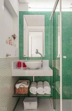 Banheiro estreito