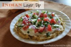 Recipes for 5 different layer dips with flavors from around the world - Indian, Oriental, Mediterranean, Mexican and Italian. They are soo a...