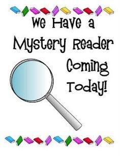 Mystery Reader announcement