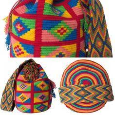 @holidaypatterns New collection! สีสวยมากของถึงไทยสิ้นเดือนมิ.ย. รับจองค่ะ Line: nich_nach #holidaypatterns #มาไวไปไว #รีบจองนะคะ #mochilabags #wayuu #wayuubags #mochila