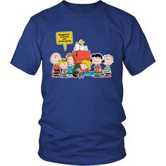 Happiness Is Being One Of The Gang Snoopy Shirts