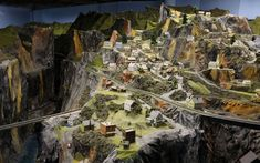 """The world's biggest model railroad """"Northlandz"""" in Flemington, New Jersey, was created by Bruce Williams Zaccagnino. Picture: Butterworth/Sp..."""