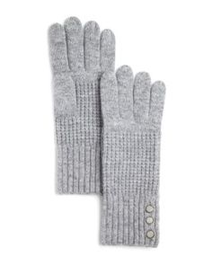 Michael Kors Waffle Stitch Gloves - 100% Bloomingdale's Exclusive | Bloomingdale's
