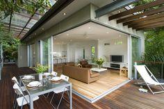 Steep Hillside House Plans   New home design ideas - Heaven on a hillside