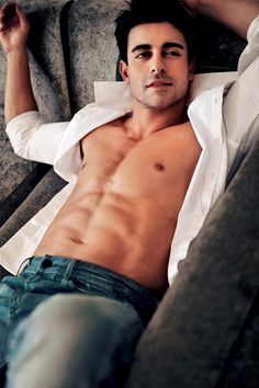 Gautam Rode posing topless showing abs, with his shirt open. #Bollywood #Fashion #Style #Handsome